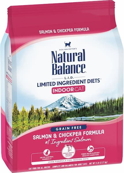 natural balance lid dry cat food for indoor cats grain-free