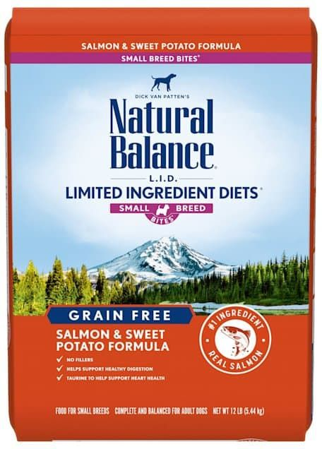 natural balance lid limited ingredient diets small breed bites dry dog food