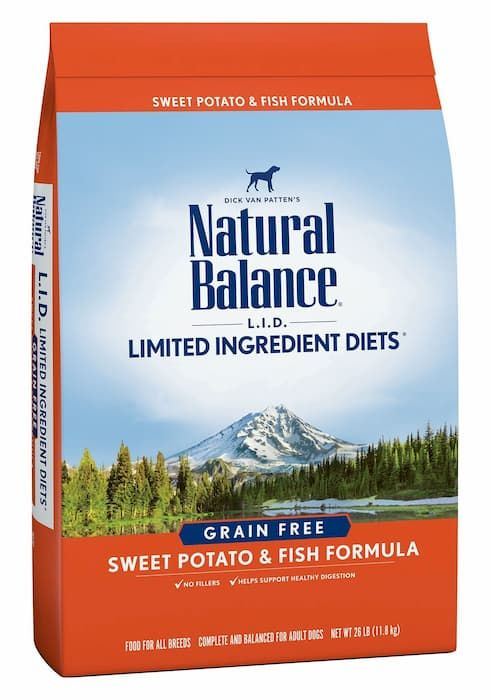 natural balance limited ingredients