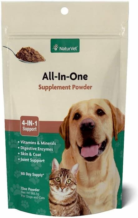 naturvet all-in-one dog supplement powder