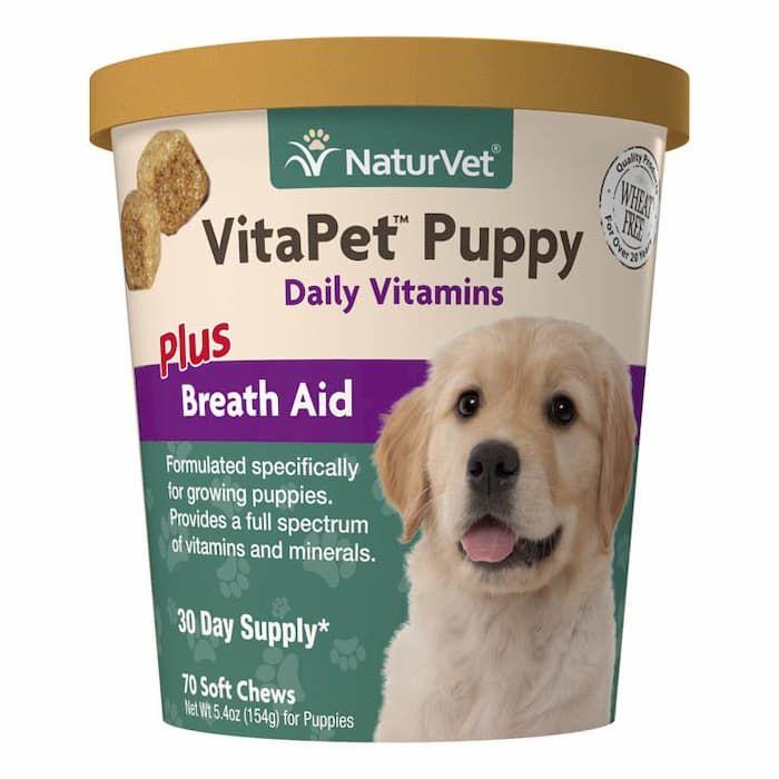naturvet vitapet puppy daily vitamins