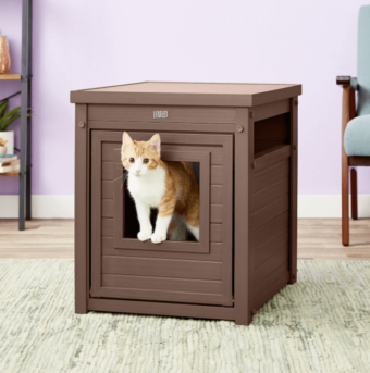 new age pet ecoflex litter loo end table