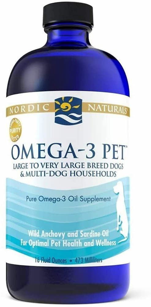nordic naturals omega-3 dog supplement
