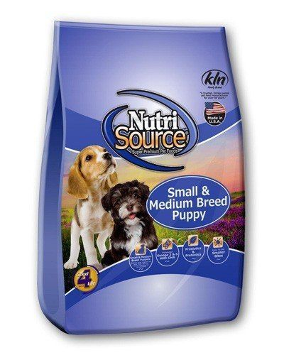 nutrisource dry dog food small breed puppy chicken and rice formula
