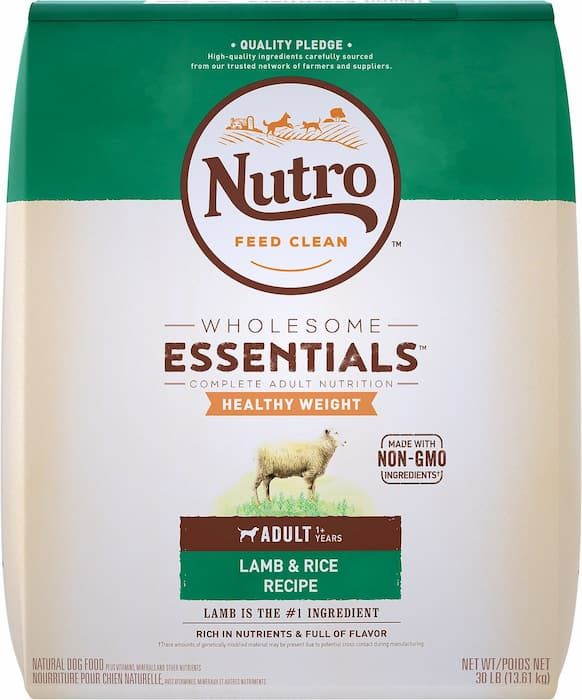 nutro natural healthy weight dog food