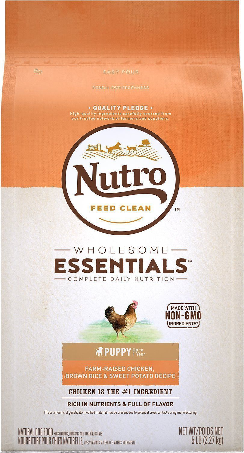 nutro wholesome essentials puppy dry dog food all breed sizes