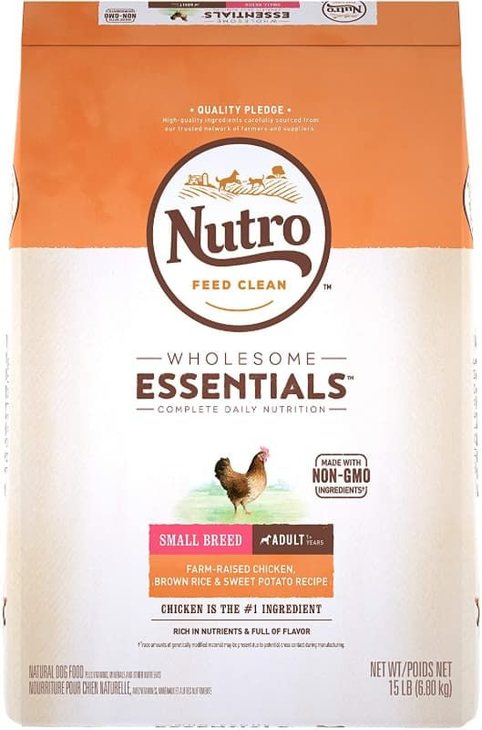 nutro wholesome essentials small breed adult
