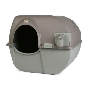 omega paw large roll and clean self cleaning litter box for cats