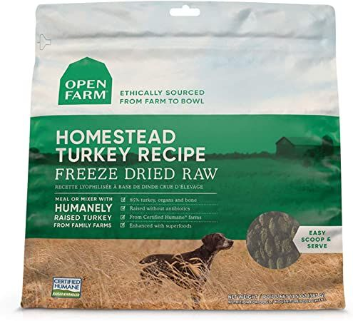 open farm freeze dried raw grain free dog food