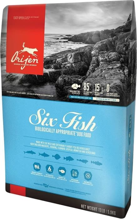 orijen 6-fish formula for dogs