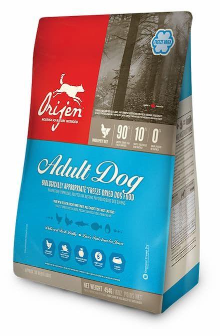 orijen adult dog freeze dried original