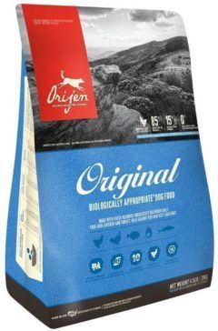 orijen original freeze-dried dog food