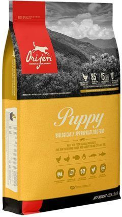 orijen puppy high-protein grain-free premium quality meat dry dog food