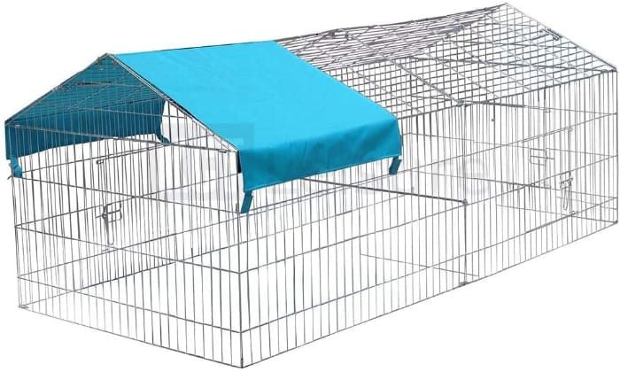 outdoor metal pet enclosure small animal playpen