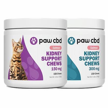 paw cbd soft chews for cats