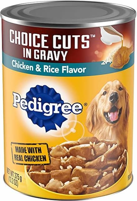 pedigree adult chicken flavor canned