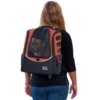 pet gear i-go2 escort dog cat carrier backpack