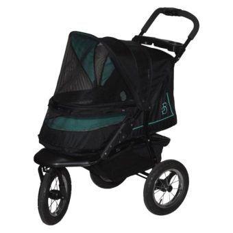 pet gear nv no-zip rose pet stroller