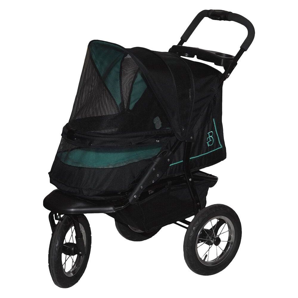 pet gear nv no-zip rose pet stroller