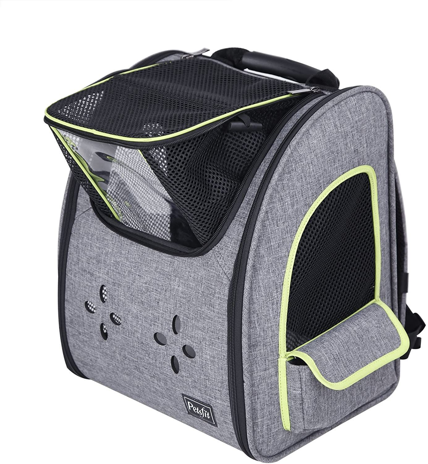 petsfit dogs carriers backpack for cat durable and comfortable pet bag