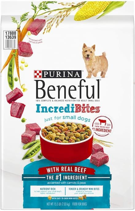 purina beneful incredibites for small dogs dry dog food