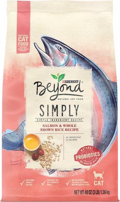 purina beyond grain-free natural adult dry cat food