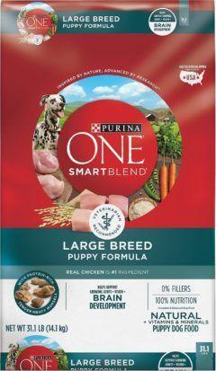 purina one smartblend large breed puppy formula dry dog food