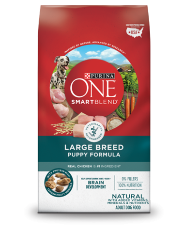 purina one smartblend large breed puppy formula dry dog food