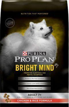 purina pro plan bright mind adult 7 chicken rice formula