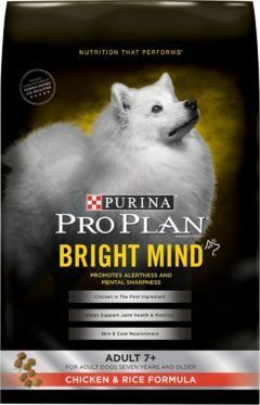 purina pro plan bright mind adult 7 chicken rice formula