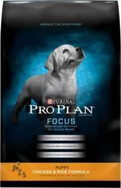 purina pro plan focus puppy chicken rice formula dry dog food