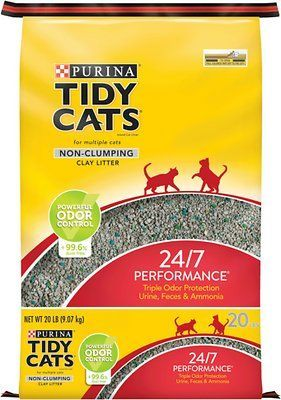 purina tidy cats non-clumping performance multi cat litter