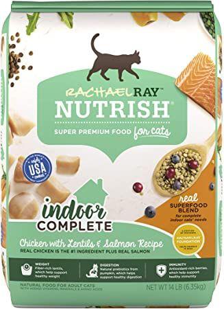 rachael ray nutrish super premium dry cat food superfood blends