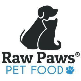 raw paws pet food logo