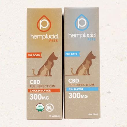 roxy by hemplucid cbd tincture for dogs or cats