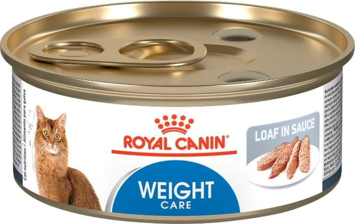 royal canin feline weight care loaf in sauce canned adult wet cat food