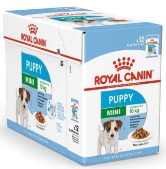 royal canin puppy mini wet food