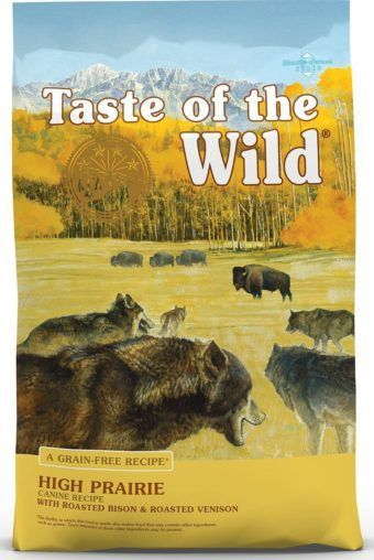 taste of the wild high prairie puppy formula grain free dry dog food