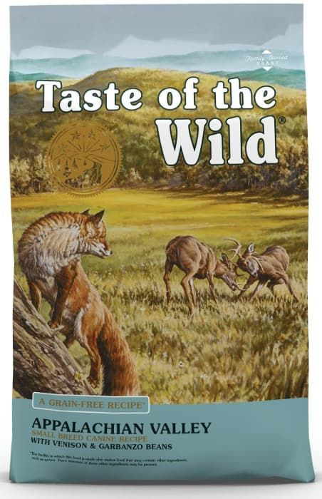 taste of the wild small breed dry dog food