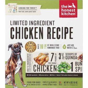 the honest kitchen dehydrated grain-free turkey dog food