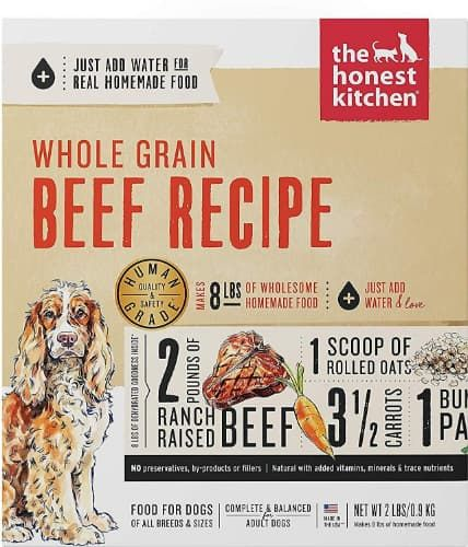 the honest kitchen dehydrated wholegrain beef recipe