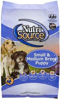 tuffys nutrisource chicken and rice formula breed dry puppy food