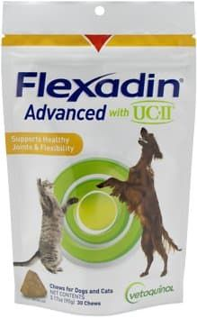 vetoquinol flexadin advanced chews with ucii