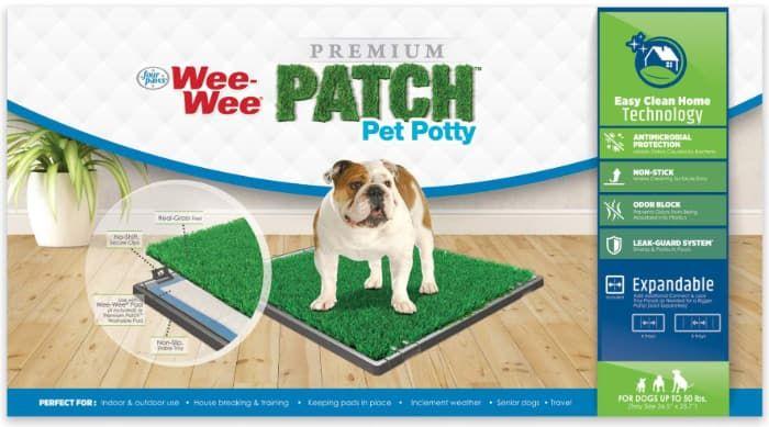 wee-wee patch indoor potty