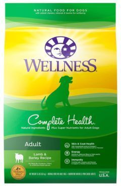 wellness complete health natural dry small sreed dog food