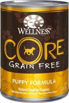 wellness core puppy dog food